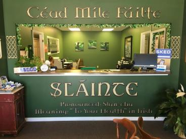 Slainte Chiropractic Wall Graphics