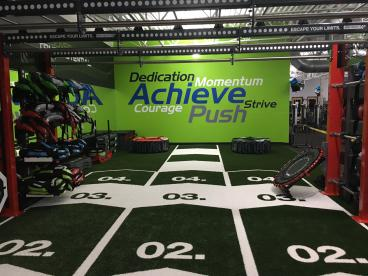 Achieve Fitness Wall Graphics