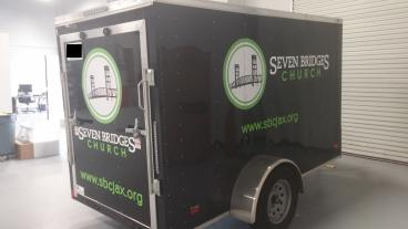 Seven Bridges Church Trailer Wrap