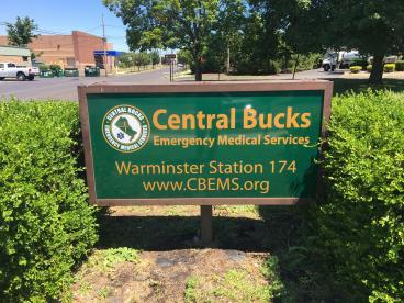 Central Bucks EMS Sign