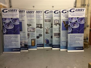 Gamry Banner Stands