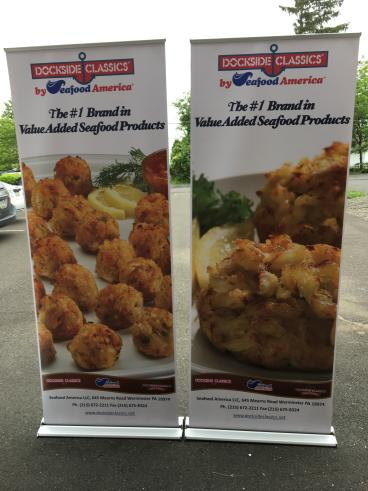 Dockside Classics Banner Stands