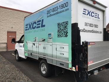 Excel Truck Wrap