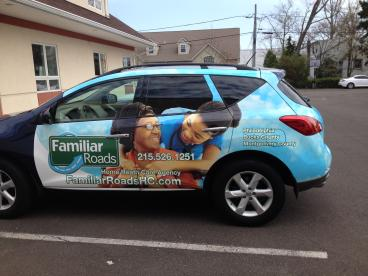 Familiar Roads Vehicle Wrap