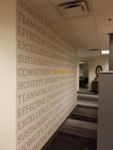 Wall Graphics and Mural
