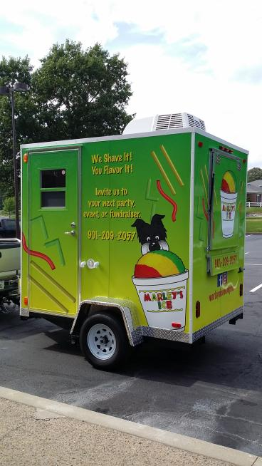 Trailer Wrap - Memphis - Marley's Ice