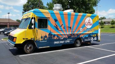 Vehicle Wrap - Memphis - Quasi Food Truck