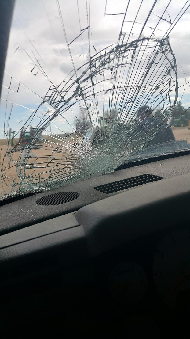 Did you know that windshields are made not to shatter when broken?