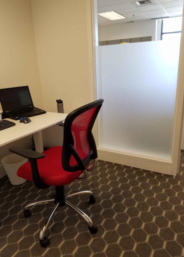 Frosted glass for office in Seattle