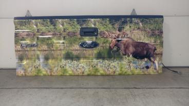 Moose Scene Tailgate