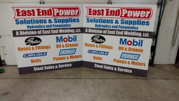 East End Power Signs