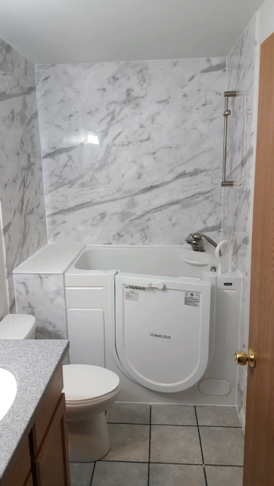 ADA Compliant Tub,  Aging Bathroom remodel, Walk-In-Tub, Walk-in bathtub, Aging in Place, Bathroom remodel, step in bathtub, safety bathtub, safety bathroom, Aging in place bathroom