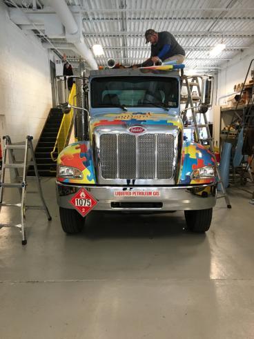 Gastec Truck Wrap