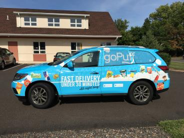 GoPuff Vehicle Wrap