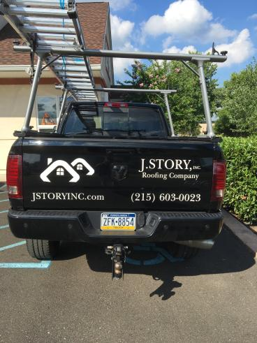 J. Story Vehicle Wrap