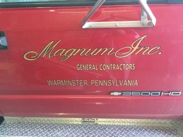 Magnum Vehicle Wrap