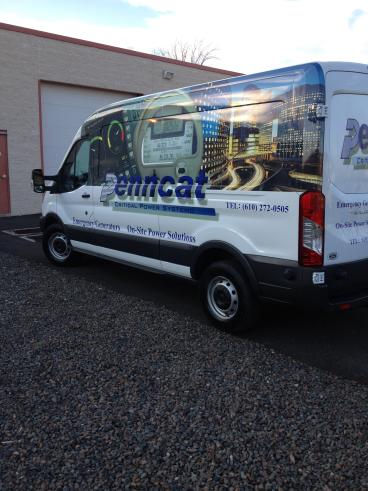 PennCat Vehicle Wrap