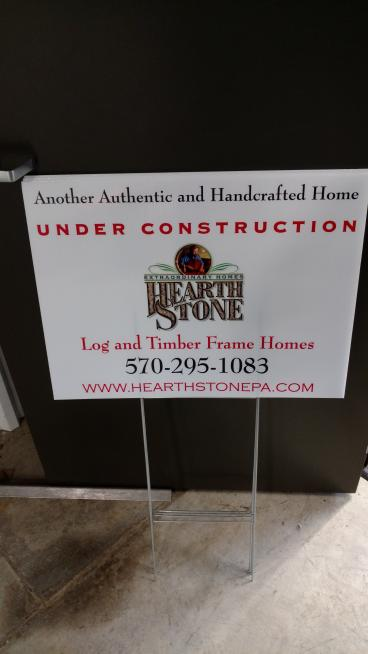 Hearth Stone DS Lawn Signs