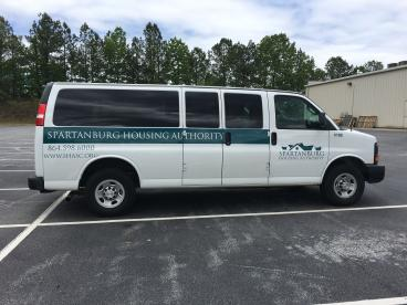 Spartanburg Housing Authority, SpeedPro Greenville