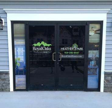 Window Graphics - Royal Oaks - Garner, NC
