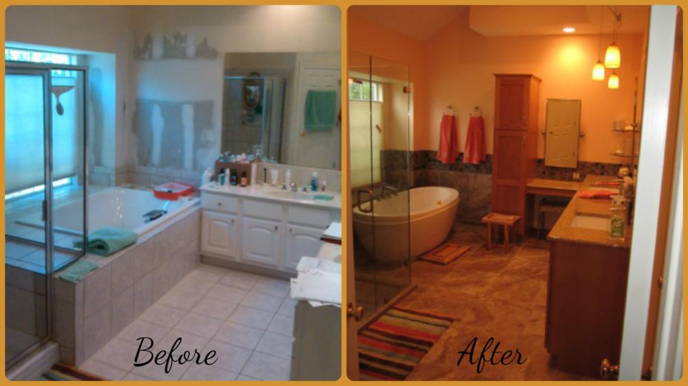Re-Bath handles every detail of your project, from design and selection of quality products, to demo and installation-all by experienced, licensed and insured bathroom remodeling experts. Best of all, we'll transform your bathroom in typically 2-5 days...not weeks. We do it all...custom wood vanities, flooring, lights, mirrors, fans and more!