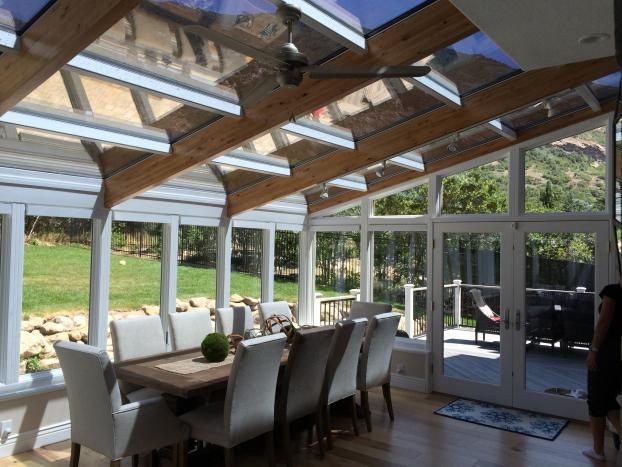 Four Seasons Sunrooms - Straight Eave