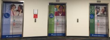 Bank of three new Kaiser Elevator Wrap by www.speedprodenver.net