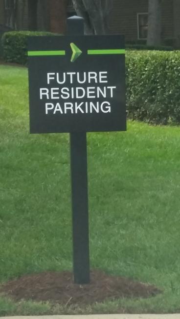 Apartment Signage, Matthews, NC