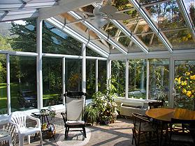 Cathedral Roof Sunroom