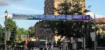 40' 2-Sided Street Banner