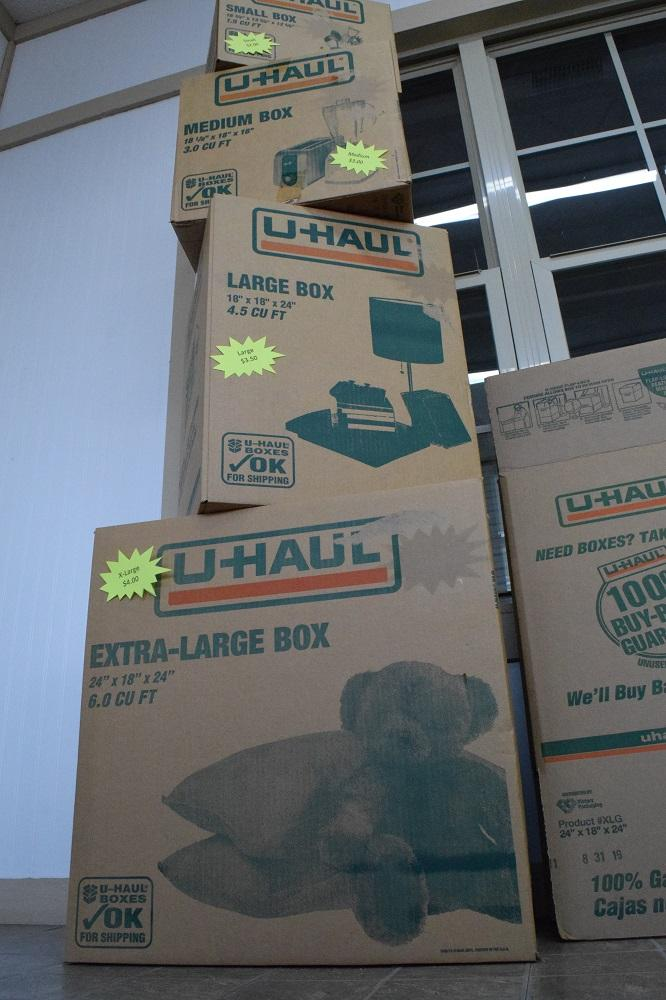 Moving Boxes? Locks? More? Make Us Your One-Stop-Shop For All Of Your Storing Needs!