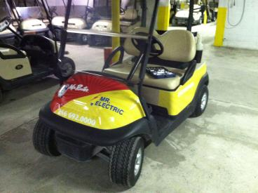 Mr. Rooter/Mr. Electric Golf Cart Wrap