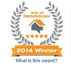 Best of Home Advisor Winner 2014