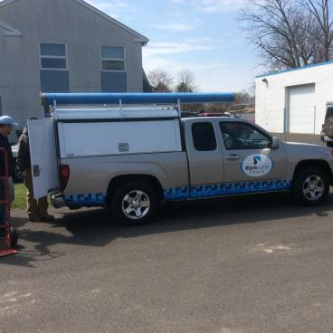 Rockwater Pools Vehicle Wrap
