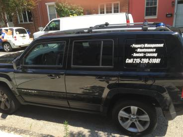 Property Management Vehicle Wrap