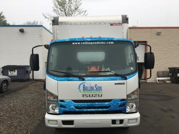Rolling Suds Truck Wrap