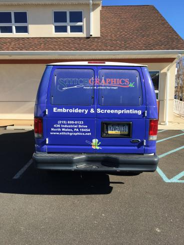 Stitch Graphics Vehicle Wrap