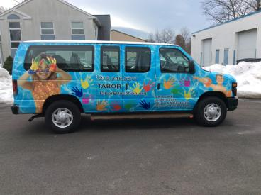Tabor Education Vehicle Wrap