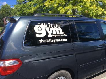 The Little Gym Vehicle Wrap