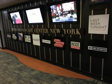 CBS Broadcast Center NY Wall Mural