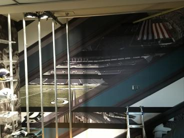 Philadelphia Eagles Locker Room and Headquarters Wall Printing