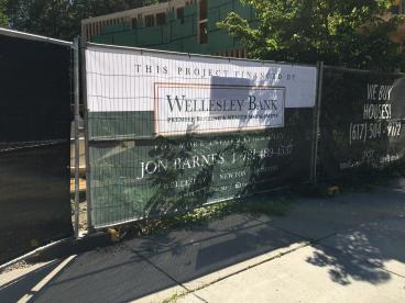 Wellesley Bank Mesh Banner