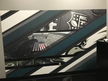 Philadelphia Eagles Wall Mural