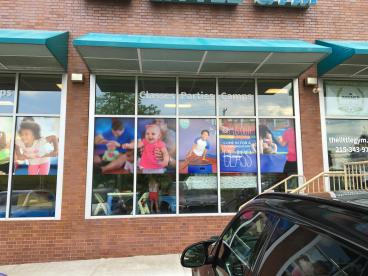 The Little Gym Window Graphics