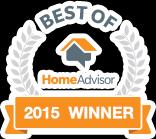 Best of Home Advisor 2015 Winner