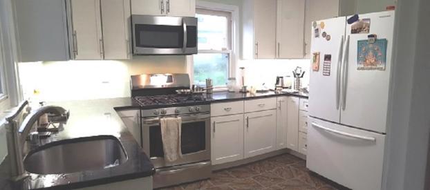 Full kitchen remodel with Cliq cabinets in NE Minneapolis