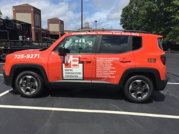 Vehicle Decals - Memphis - Memphis Communication Corporation