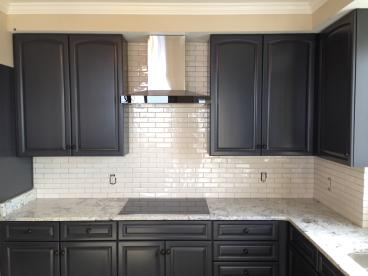 Beautiful kitchen back splash in East Hill, Pensacola, FL