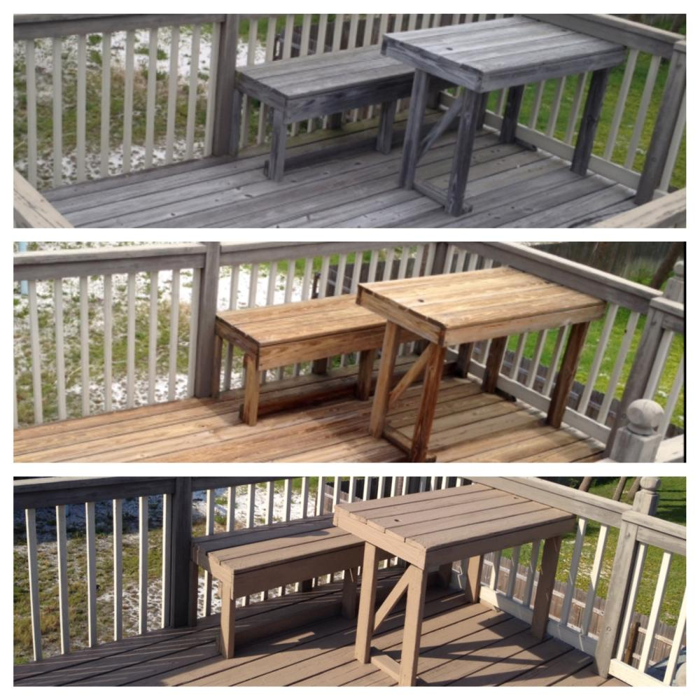 Deck restoration in Pensacola Beach, FL