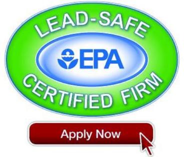 EPA Certified Firm for lead based paint